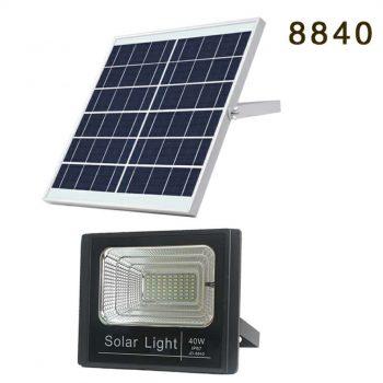پرژکتور 40 وات خورشیدی مدل JD-8840 Solar Light