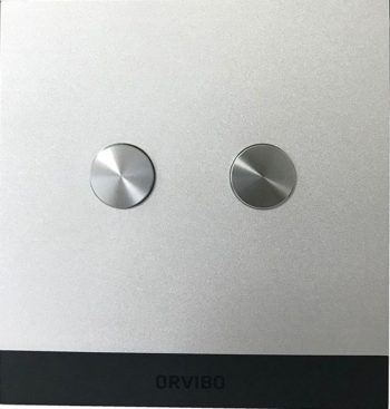 کلید هوشمند دو پل اورویبو طرح GEEKRAV نقره ای